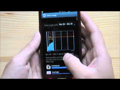 Set Data Usage Limit Samsung Galaxy S3