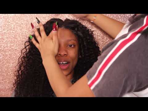 Watch Me Blend Hair on Curly U Part! | UNICE HAIR
