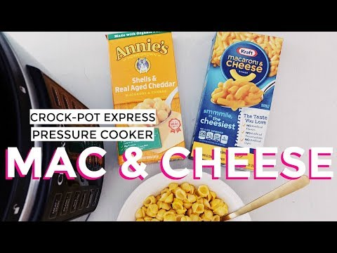 Crock-Pot Express Multi-Cooker Pressure Cooker Macaroni and Cheese