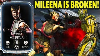 Mortal Kombat X - Diamond Tier - Ravenous Mileena Battle