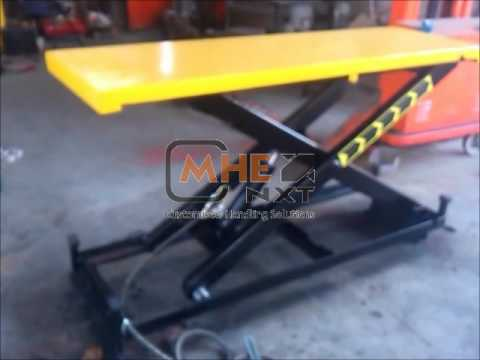 Special low Bed Scissor Lift Table_wmv