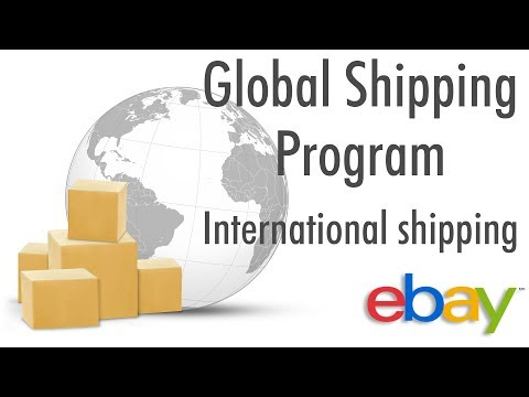 How to enable Global Shipping Program on eBay | International shipping - 2018