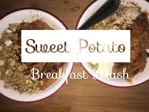 Sweet Potato Breakfast Mash | Easy & Vegan