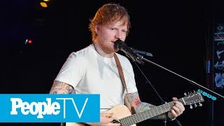 Ed Sheeran Reveals Substance Abuse Battle, Says Music & His Girlfriend Saved Him | PeopleTV
