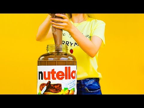 13 CUTEST DIYs YOU CAN MAKE AT HOME || DIY GIANT NUTELLA SLIME
