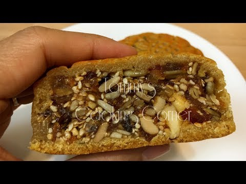 Bánh Trung Thu Nhân Thập Cẩm - Bánh Nướng Hướng dẫn bằng tiếng Việt