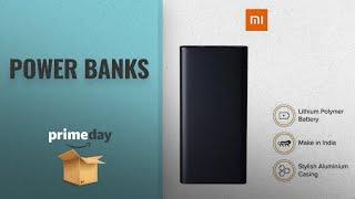 Power Banks Prime Day Deals: Mi 10000mAH Li-Polymer Power Bank 2i (Black)