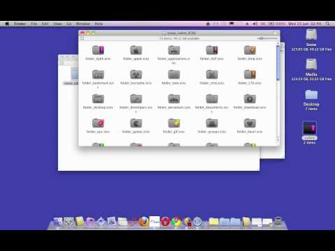 How to change a folder's icon in Mac OS X Snow Leopard