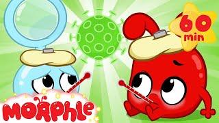The Magic Pet Flu - Morphle's Sick | My Magic Pet Morphle | Cartoons for Kids | Morphle TV