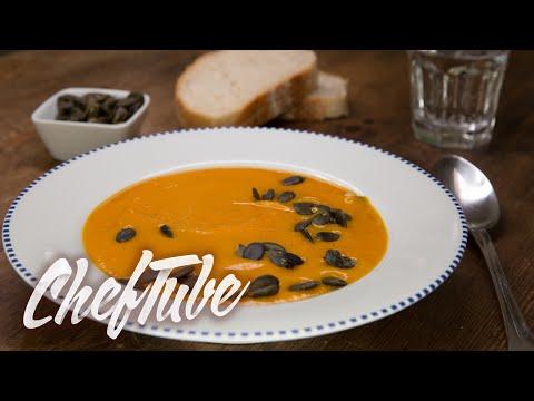 How to Make Creamy Pumpkin Soup - Recipe in description