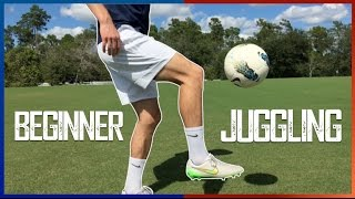 Juggling a Soccer Ball for Beginners | Training