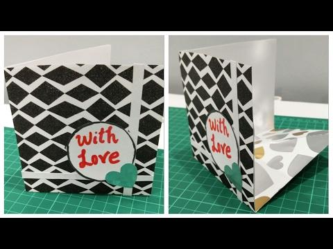 DIY- Corner Pop-up Card || Enjoy Crafting # 25