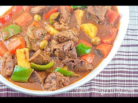 Beef Kaldereta