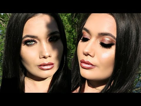 ROSE GOLD MAKEUP TUTORIAL  | SMASHBOX VLADA ROSE GOLD COLLECTION