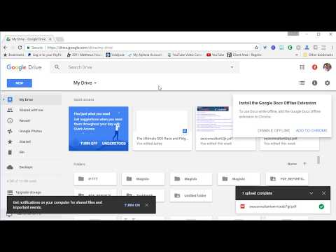 Upload PDF Tutorial to Drive.Google.com