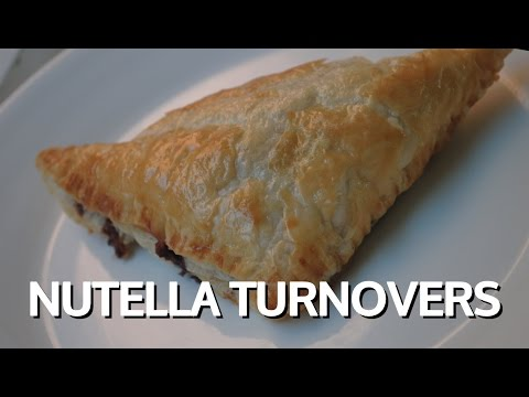 NUTELLA TURNOVERS - Student Recipe