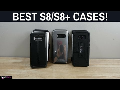 Best Galaxy S8/ S8 Plus Cases!