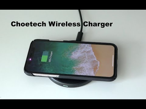 CHOETECH T528-S Fast Wireless Charger Unboxing & Testing