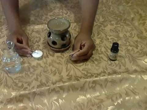 How to use aromatic essential oils (Diffuser)