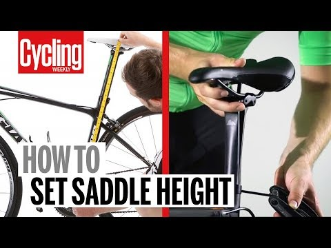 Saddle height: How to get it right, and why it's so important | Cycling Weekly