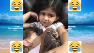#x202b;الطفلة معجزة تنيم اختها صار بدها ؟؟؟#x202c;lrm;