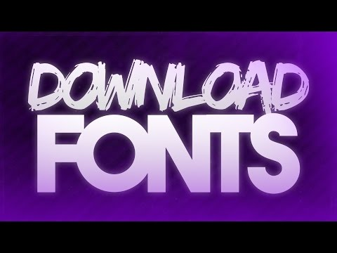 How to Download & Install Fonts onto Photoshop, Microsoft Word and more! (For Mac, Windows 7/8/10)