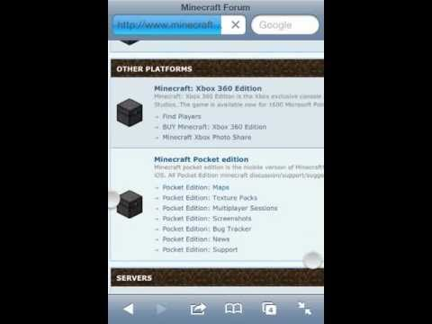 How to download maps for MCPE