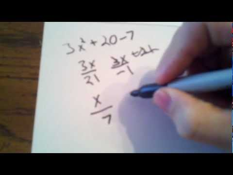 Easiest Way to Factor Polynomials