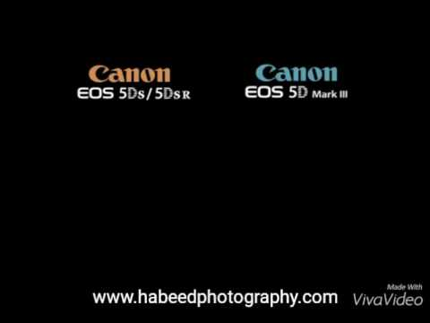Canon EOS 5Ds and 5Dsr vs Canon EOS 5D mark iii