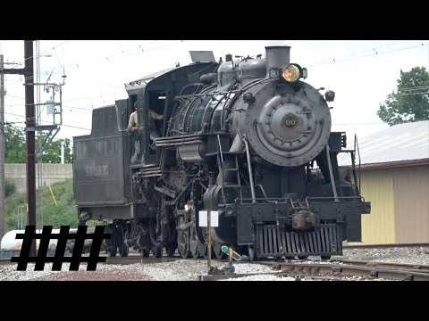 Strasburg Rail Road Steam Excursion Train with SRC 90 BLW 2-10-0 Steam Engine Part 2 of 2