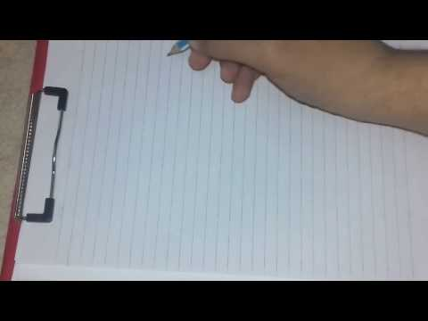 ازاى تخلى | القلم |الرصاص | خط | عربى  How to make an arabic font with pencil
