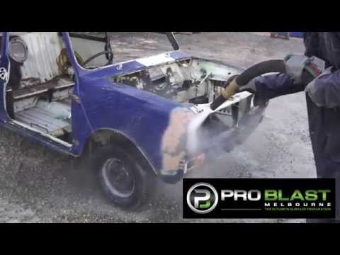 Sandblasting Truck Hire - Paint Removal from Pro Blast Melbourne