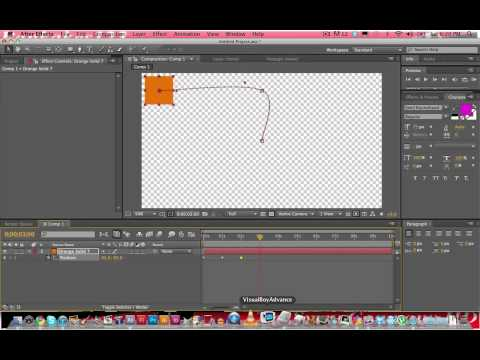 After Effects CS5 Tutorial - Basic Keyframing & Motion Graphics