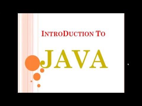 Java tutorial part -1 (history of java)
