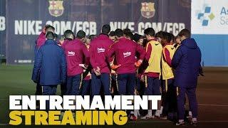 DIRECTE - Entrenament del FC Barcelona previ al partit amb el Las Palmas