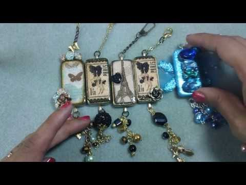 Altered Domino Charms