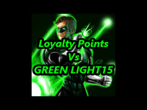 DCUO Loyalty Points vs GREEN LIGHT15 PvP 1v1 Scrimmage