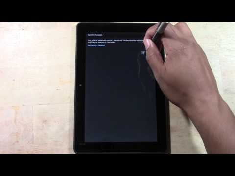 Kindle Fire HDX (8.9) - How to Setup | H2TechVideos