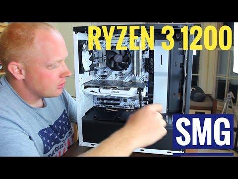 AMD Ryzen 3 1200 | NVIDIA GTX 1060 3GB PC BUILD