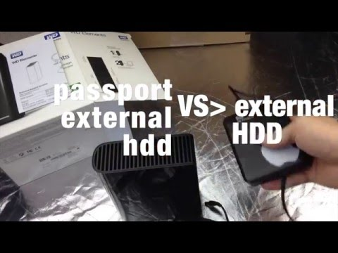 External Hard drive vs. Passport External Hard drive which one to get? portable hdd for mac/pc
