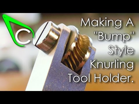 Spare Parts #5 - Making A Bump Style Knurling Tool Holder