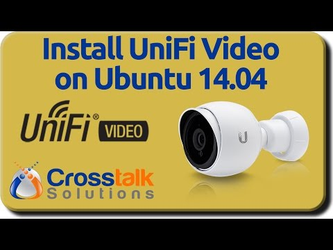 Install UniFi Video on Ubuntu