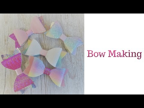 Cricut Bow Making
