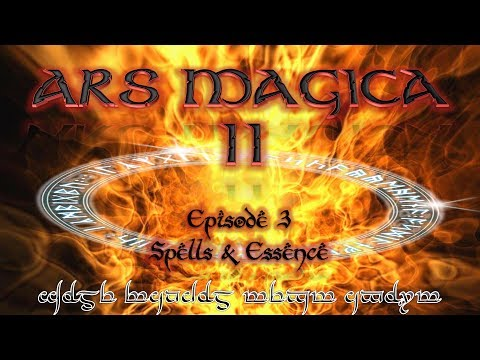 Lets Play Ars Magica II - 3 - Spells and Essence