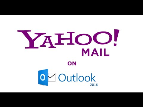 How to setup Yahoo mail on Outlook 2016