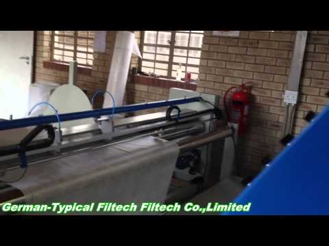 Automatic Filter Bag Fabric Slitting Machine in South Africa