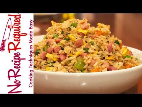 Pork Fried Rice - NoRecipeRequired.com
