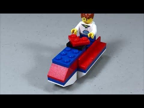 LEGO Jet Ski (How to Build)