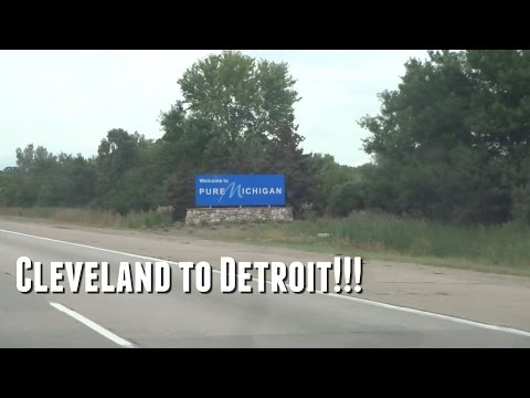 Cleveland to Detroit!!! (Day 313 - 9.9.2015)