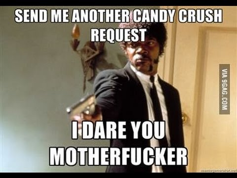 Facebook Candy Crush Requests....